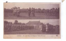 GUERRE 14 18 Cognac  Revue Depart Regiment Tcheco Slovaque - Régiments