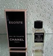 """Miniature """"ÉGOÏSTE"""" De CHANEL Eau De Toilette 4 Ml Dans Sa Boite - Miniatures Hommes (avec Boite)"""