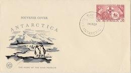 AUSTRALIA 1957 Souvenir Cover The Home Of The King Penguin.BARGAIN.!! - Australisch Antarctisch Territorium (AAT)