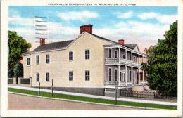 North Carolina Wilmington Cornwallis Headquarters 1939 - Wilmington