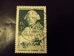 """A Partir De 1945 - Timbre Oblitéré N° 828     """"  Choiseul     """"        Net  1 Euro - France"""