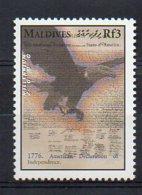 MALDIVES. MILLENNIUM. 1750-1800 GREAT EVENTS. MNH (2R4514) - Otros