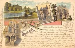 45 ORLEANS -Souvenir D' Orléans- Style Guiss Carl Künzli.Editeur,Paris.1899 - Orleans