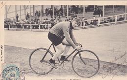 CPA Sport Cyclisme Vélo Bicyclette Coureur Cycliste MATHIEU  Cycling Radsport (2 Scans) - Cyclisme