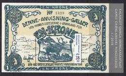 2.- GREENLAND 2018 Old Greenlandic Banknotes - Groenlandia