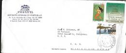 J) 1990 MEXICO, TB SEALS, NATIONAL LOTTERY, LA SIRENITA, EL POSTAL MEXICANO POSTAL COLLECTION, AMEXFIL, MEXICO STATE, BO - Mexico