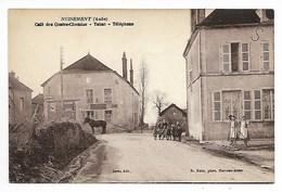 NUISEMENT Café 1937 TABAC Phot. RALE Bar Sur AUBE Près Vendeuvre Lusigny Barse Bar Seine Et Puits Essoyes Troyes - France