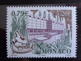 MONACO 2000 Y&T N° 2270 ** - GROTTE DE L'OBSERVATOIRE & NOUVEAU MUSEE D'ANTHROPOLOGIE - Monaco