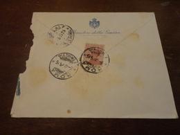 LETTERA CON 60 CENTESIMI SU BUSTA MINISTERO DELLA GUERRA-1925 - 1900-44 Vittorio Emanuele III