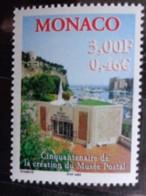 MONACO 2000 Y&T N° 2279 ** - CINQUANTENAIRE DE LA CREATION DU MUSEE POSTAL - Monaco