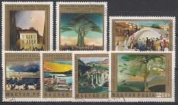 HONGRIE Mi.nr.:2878-2884 Gemälde 1973 Oblitérés - Used - Gebruikt - Hungary