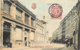 75010 - TOUT PARIS - Rue Sambre Et Meuse - Société Coopérative L'Egalitaire (couleur) - Arrondissement: 10