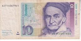 3816   10 DEUTSCHE MARK - 10 Deutsche Mark