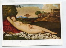 ART / PAINTING - AK 343881 Giorgione - Schlummernde Venus - Peintures & Tableaux