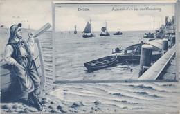 EMDEN - 1910-1920 - Aussenhafen Bei Der Mündung - Emden