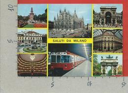 CARTOLINA NV ITALIA - Saluti Da MILANO - Vedutine Multivue - 10 X 15 - Saluti Da.../ Gruss Aus...