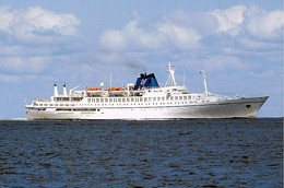 "Ship Postcards - Passenger Ship : ""Astra I   "" Variant Read Description - Ships"