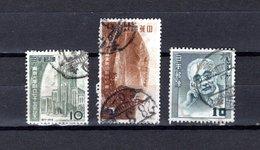 Japón   1952  .  Y&T Nº   518-519-523 - 1926-89 Emperador Hirohito (Era Showa)