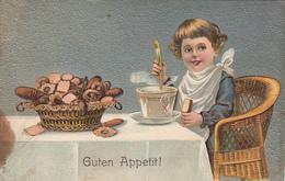 CHILDREN - Germany - Fancy Card 1908 - Guten Appetit! - Enfants