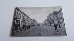 *GAND Une Vue De La Chaussée D'Anvers à Mont St Amand  Oblitérée Début 1900 - Gent