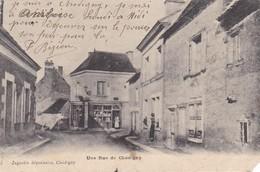 37 CHEDIGNY. CPA. UNE RUE DE CHEDIGNY. ANNEE 1905 - Altri Comuni