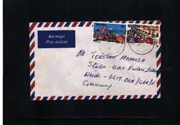 Nigeria  Interesting Airmail Letter - Nigeria (1961-...)