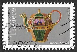 FRANCE   2018 -   YT 1623 - Théière De Sèvres -  Oblitéré - Adhésifs (autocollants)