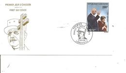 DeGaulle ( FDC Du Gabon De 1970 à Voir) - De Gaulle (Général)