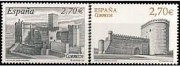 ESPAÑA 2009 - CASTILLOS. El Castillo De Arévalo Y El Castillo De Javier - Edifil Nº 4510-4511 - Yvert 4153-4154 - 1931-Hoy: 2ª República - ... Juan Carlos I