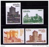 ESPAÑA 2004 - CASTILLOS - Edifil Nº 4097-4100 - Yvert Nº 3676-3677-3679-3680 - 1931-Hoy: 2ª República - ... Juan Carlos I