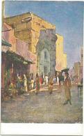 W1247 Libia - Tripoli - L'Arco Di Marco Aurelio - Giovanni Rava Dipinto Paint Peinture Illustrazione Illustration - Libia