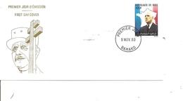 DeGaulle ( FDC Du Mali De 1980 à Voir) - De Gaulle (Général)