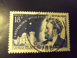 """A Partir De 1945 - Timbre Oblitéré N° 1057      """"  Flammarion     """"     Net  1 - Oblitérés"""