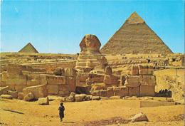 GIZA - The Great Sphinx And The Pyramids Of Kephren And Mikerinos - Sphinx