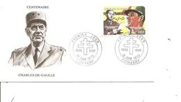DeGaulle ( FDC De Guinée De 1990 à Voir) - De Gaulle (Général)
