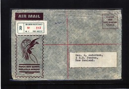 Papua New Guinea 1969 Interesting Airmail Registered South Pacific Games Letter - Papouasie-Nouvelle-Guinée