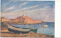W1250 Libia - Tripoli - Il Forte Del Molo - Giovanni Rava Dipinto Paint Peinture Illustrazione Illustration - Libia