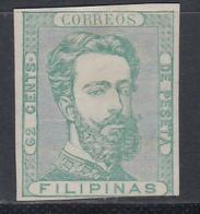 1872. Prueba, 62 Cts Verde, (*) - Filipinas
