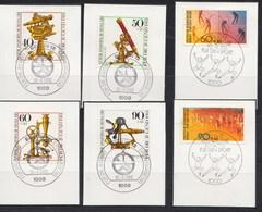 641/44 + 645/46 Mit LUXUS-Ersttags-Stempeln BERLIN Auf Briefstücken,perfekt !!  26.1-30 - Berlin (West)