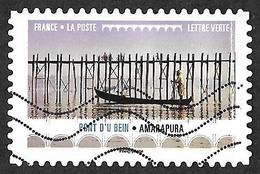 FRANCE   2017 -   YT 1474 - Pont D'u Bein.Amarapura.  -  Oblitéré - Adhésifs (autocollants)