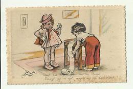 "-*1 X Terwijl Gij Er Zijt,  . . . . .       * -""""  M .JACOBS ? """"- 1936 - Otros Ilustradores"