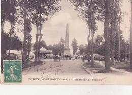 CPA - FORET DE SENART - Pyramide De BRUNOY - Autres Communes