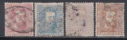 1872, Edifil Nº 25, 26, 28, 29, - Filipinas