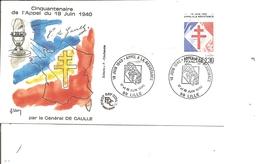 DeGaulle - Appel Du 18 Juin 1940   ( Commémoratif De France De 1990 à Voir) - De Gaulle (Général)
