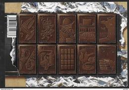 Bloc Feuillet N° F4357 Neuf Le Chocolat - Mint/Hinged