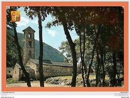 A598 / 007  Andorre Santa Coloma Clocher Roman ( Timbre ) - Andorre