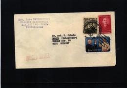 Philippines 1962 Interesting Airmail Letter - Philippinen