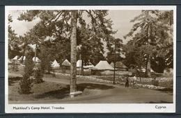 Troodos - Makhlouf's Camp Hotel - S/w - Gel. - Geschrieb. Datum: 28.08.1953 - Zypern