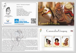 Ethnic Black African America Candombe Dance Music Uruguay Carnival Booklet - Baile