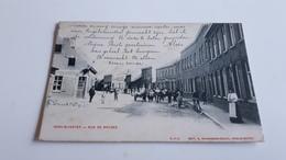 *INGELMUNSTER Rue De Bruges Belle Animation Oblitéré En 1905 - Ingelmunster